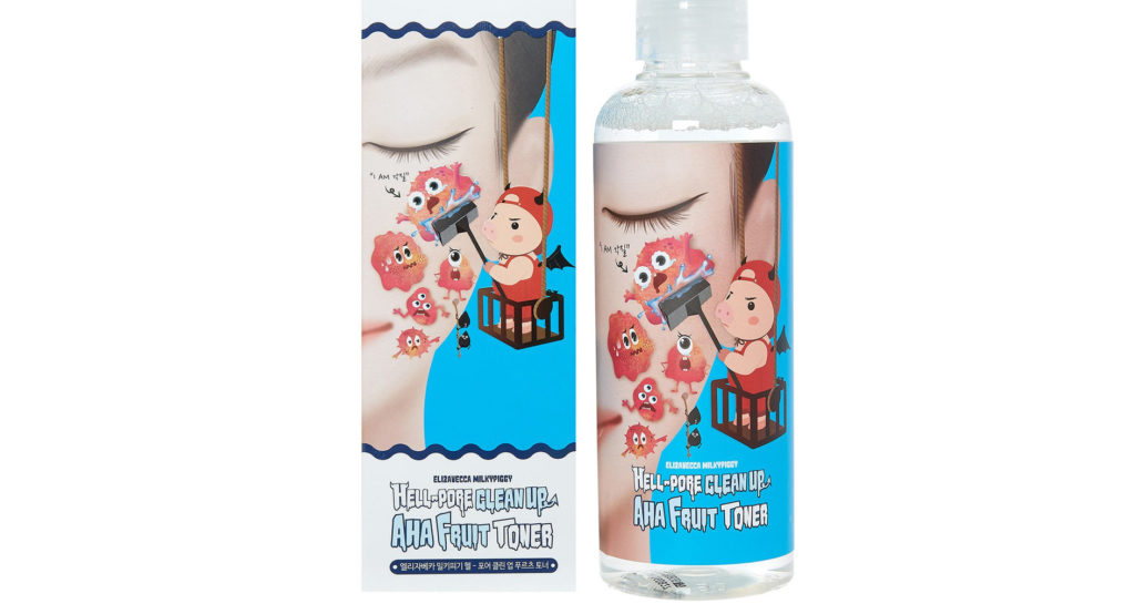 Elizavecca Milky Piggy Hell-Pore Clean Up AHA Fruit Toner