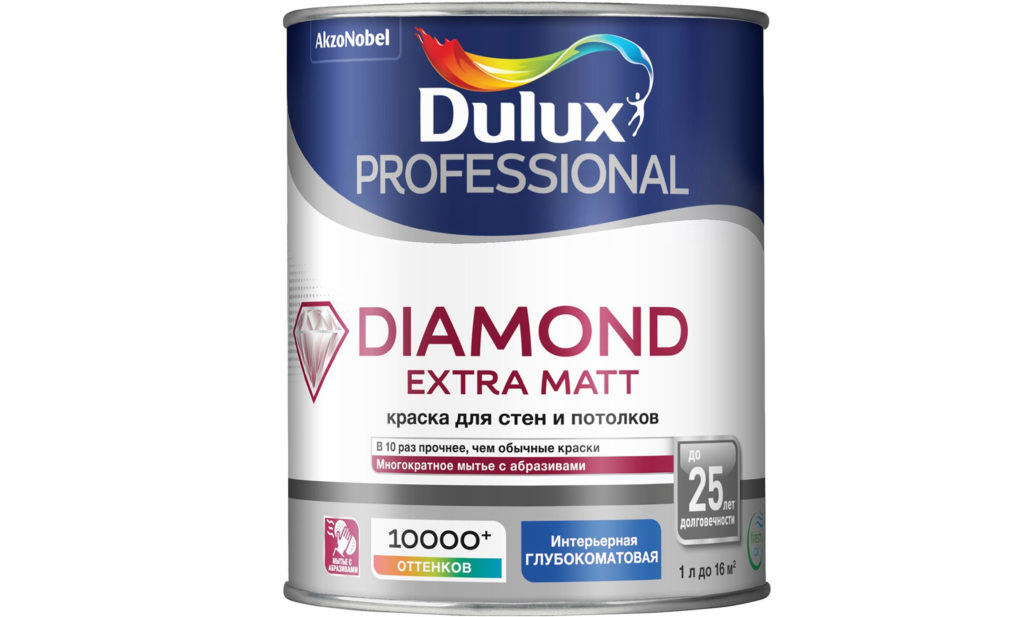 Dulux Diamond Extra Matt матовая