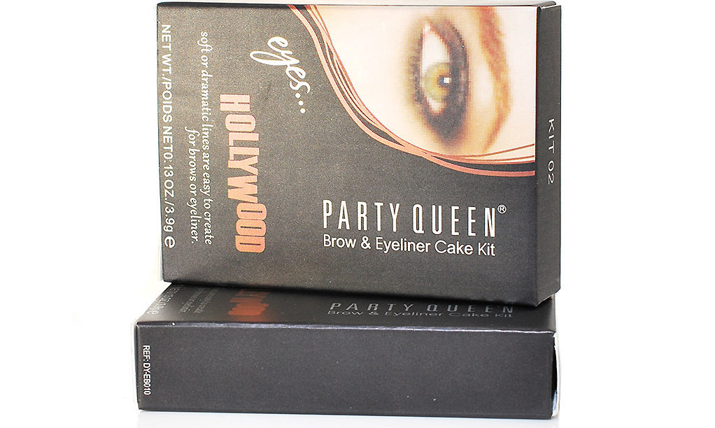 Party Queen Brow & Eyeliner Cake Kit eyes Hollywood